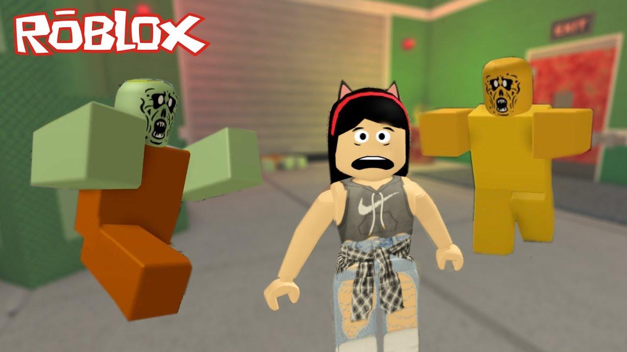 Roblox - INVASÃO ZUMBI (Zombie Rush)   Luluca Games - YouTube