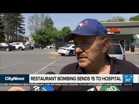 Owners, patrons shaken after Mississauga restaurant blast