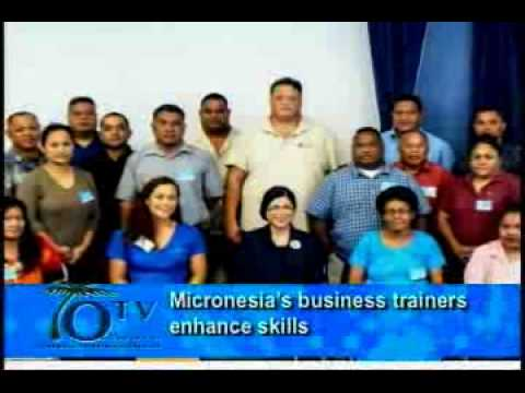Micronesia's business trainers enhance skills