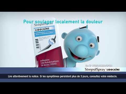 StrepsilSpray - Publicité France Nuit