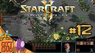 GitGud plays Starcraft 2 Multiplayer [Master] 12 fuck mindfactory