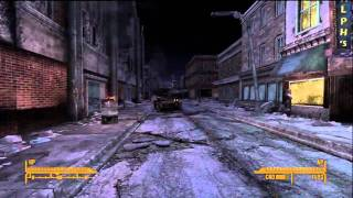 Fallout: New Vegas Xbox 360 Gameplay HD Companions, Map and more!