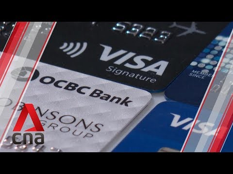 Fewer Credit Cards Issued In Singapore