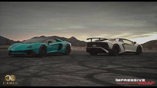 Lamborghini Aventador SV with Fi Exhaust