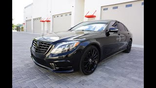 The Mercedes-Benz S-Class is Still the Benchmark for Luxury Cars - Reviewing a 2015 S 550 W222