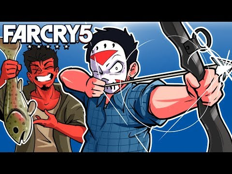 Far Cry 5 - Exploring the world with Cartoonz! Ep. 2!