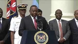 Kenya's President Uhuru Kenyatta address - Kenya Hotel attack