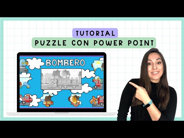 Puzzle con sombra   POWER POINT TUTOORIAL