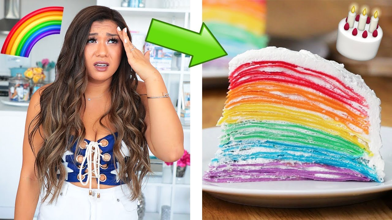 i-tried-buzzfeed-s-viral-rainbow-crepe-cake