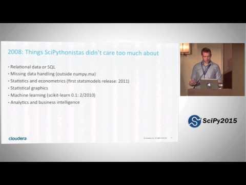 Keynote: My Data Journey with Python |SciPy 2015 | Wes McKinney