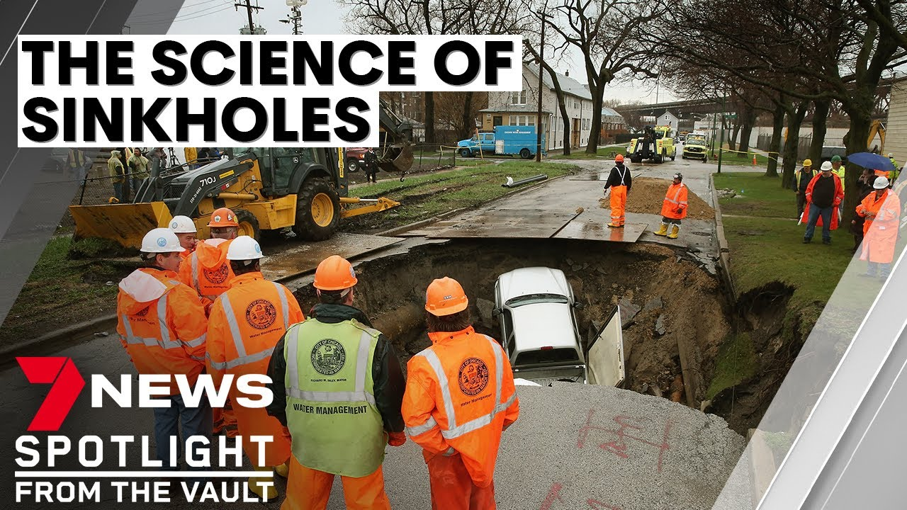 The science of sinkholes: when the earth swallows people, homes and streets | 7NEWS Spotlight