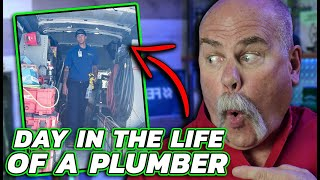 Real Plumber Reacts to His OWN Plumbers Work!