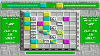 AMIGA MATRIX NOT THE CHALLENGE OF THE MATRIX OCS By Synergy Software Game RARE MIND dms zip