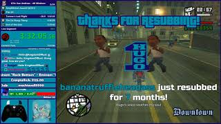 GTA San Andreas All Missions Speedrun Practice - Hugo_One Twitch Stream - 10/23/2017