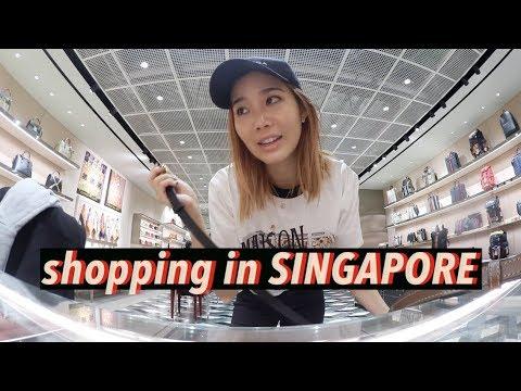 Shopping in Singapore: YSL, Balenciaga, & Gucci | #Vlogmas Day⑥