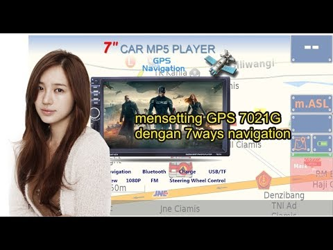 How to setting GPS on 7021G MP5 Player