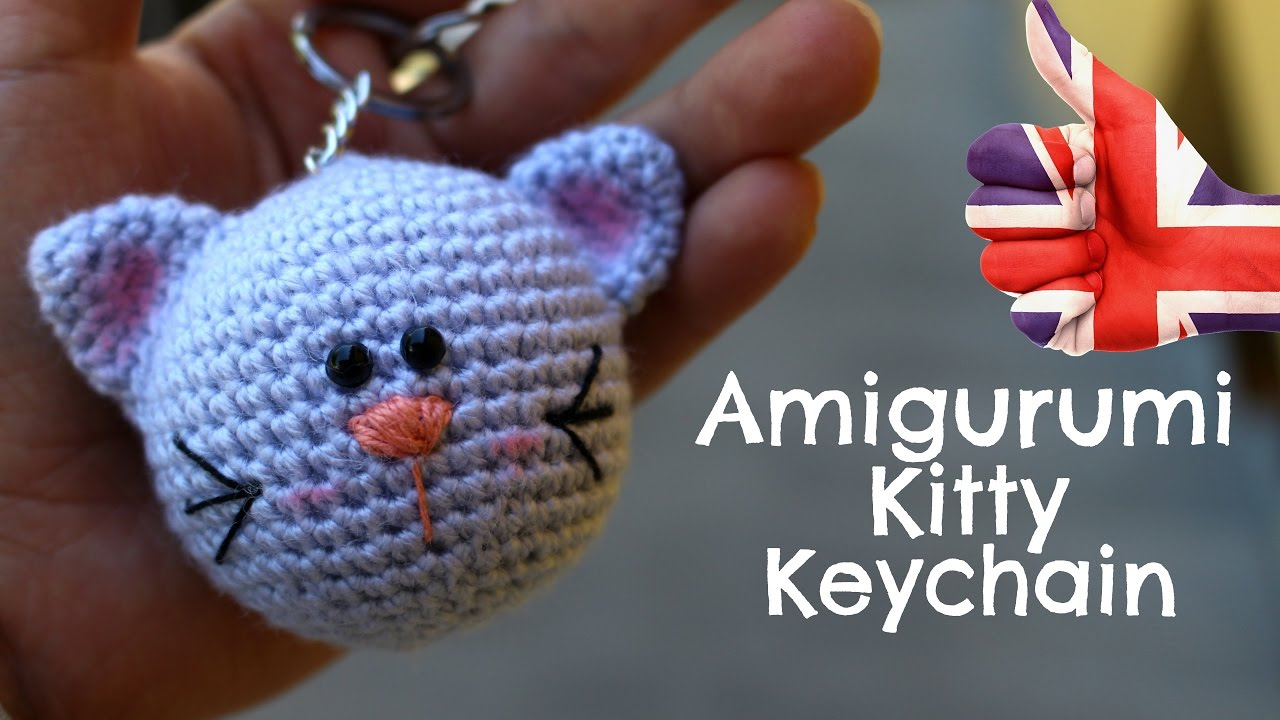 Amigurumi Crochet Keychain : Keychain kitty amigurumi world of amigurumi youtube