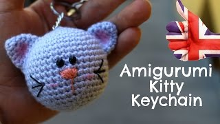 Keychain kitty Amigurumi | World Of Amigurumi