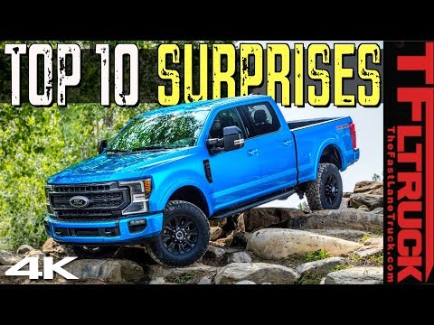 This 2020 Ford Tremor Off-Road Truck Is Hiding These Top 10 Surprising Features!