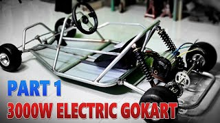 Build a 3000W Electric Go Kart at Home - v4 - Part 1