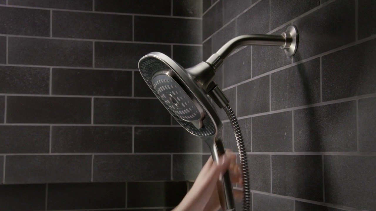 Converge Showerhead Handshower Combo - YouTube