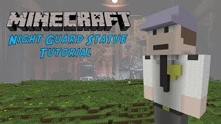 Minecraft Tutorial: Night Guard (Five Nights At Freddy