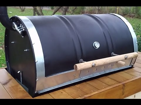 How to build a Barrel BBQ (DIY- Plans Included) based on the Argentinian Parrilla de Tambor