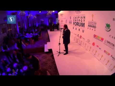 İskəndər Şirəli - Caspian Energy Award 2015 Baku
