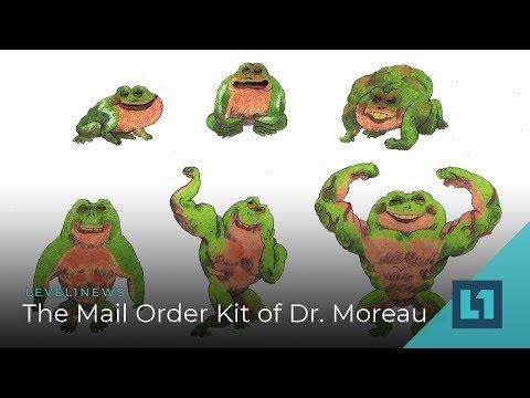 Level1 News September 21 2018: The Mail Order Kit Of Dr. Moreau