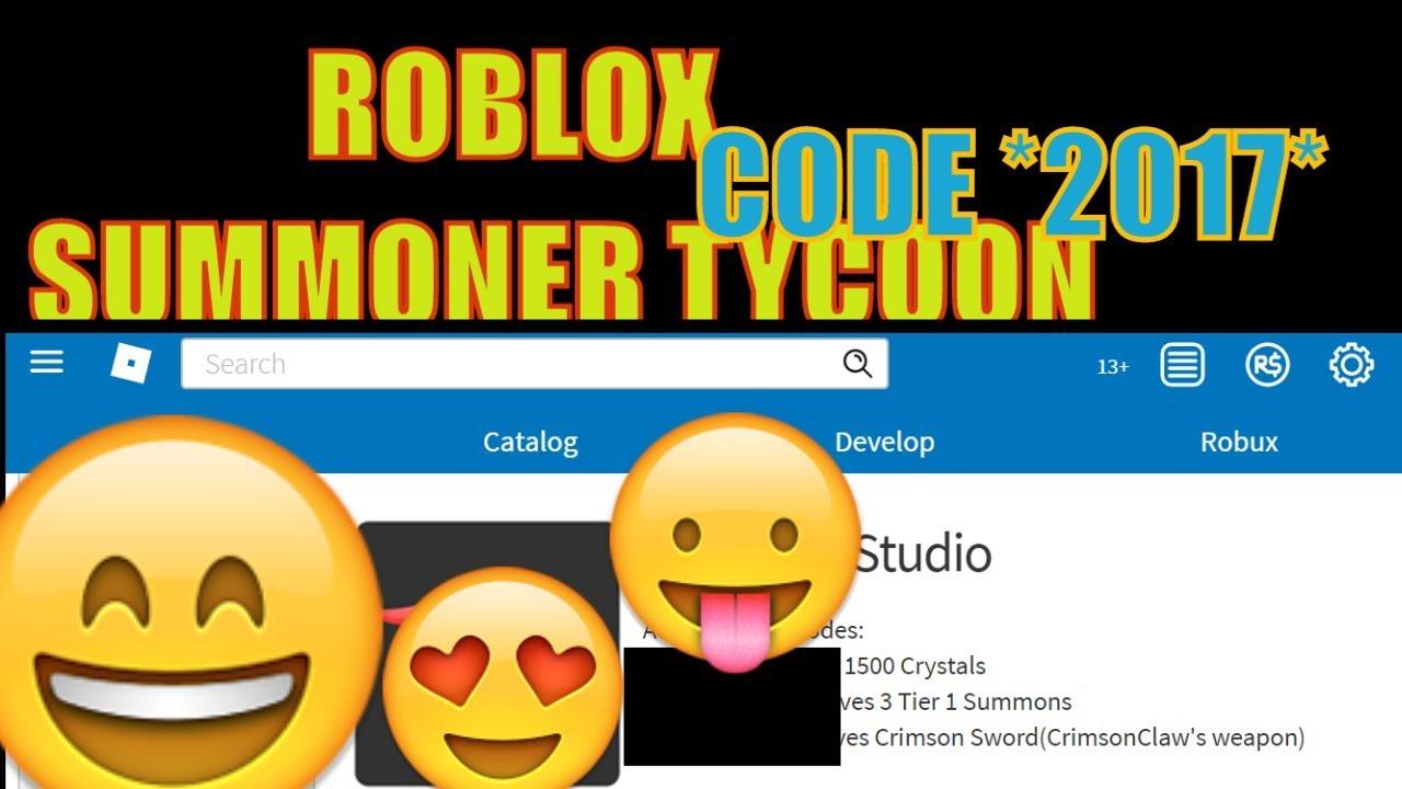 roblox summoner tycoon codes