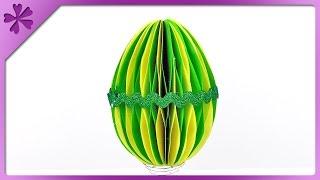 DIY Paper Easter egg (ENG Subtitles) - Speed up #199