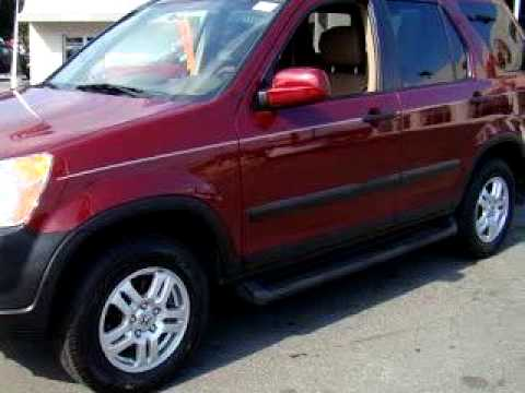 SOLD - 2004 Honda CR-V EX 07461 Franklin Sussex Auto Mall In