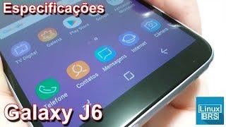 Samsung Galaxy J6 - Interface - Tudo do mesmo