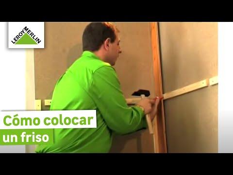 Colocar friso parte i leroy merlin youtube - Colocar friso en pared sin rastreles ...