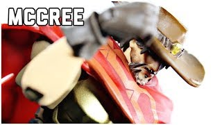 Hasbro Overwatch Ultimates Mccree Action Figure Review Blizzard Entertainment