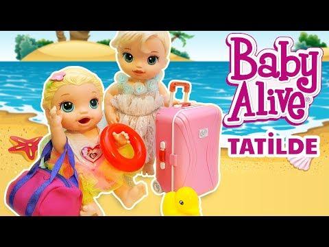 Baby Alive Lily ve Blonde Kardesler Tatile Gidiyor Bavul Hazırlığı | Oyuncak Butiğim