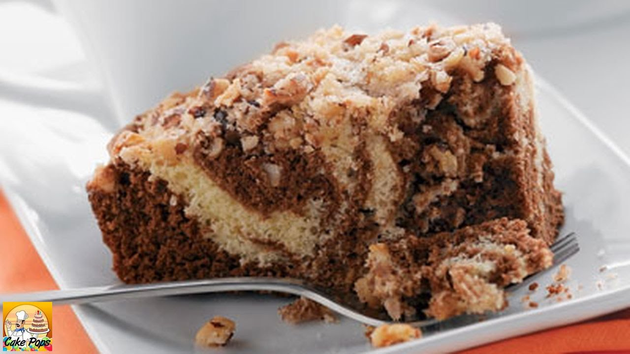 Sour cream coffee cake the frugal chef - Sour Cream Coffee Cake With Chocolate Mocha Swirl