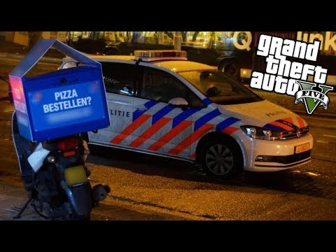 GTA V - PIZZA BEZORGEN IN GTA!