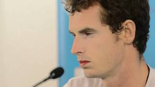 Andy Murray First Round Press Conference: Brisbane International 2012