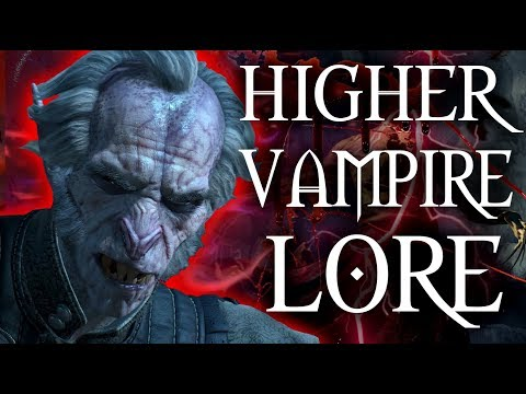 Witcher 3 - Hidden Society of Higher Vampires - Witcher 3 Lore & Mythology
