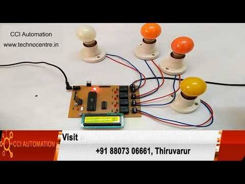 Embedded System 8051 PIC AVR ARM ARDUINO Robotics Courses Training in Thirukkuvalai