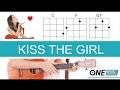 Kiss the Girl - Little Mermaid Ukulele Tutorial