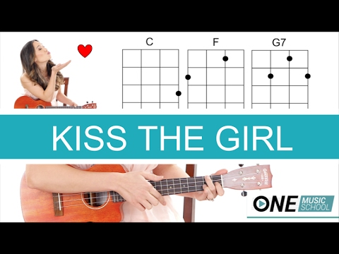 Kiss the Girl - Little Mermaid Ukulele Tutorial