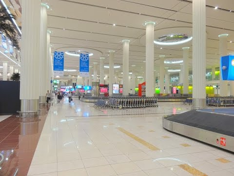 Dubai International Airport - Terminal 3 (Arrival & Baggage)