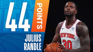 Randle ERUPTS for 44 PTS in MSG! 💥