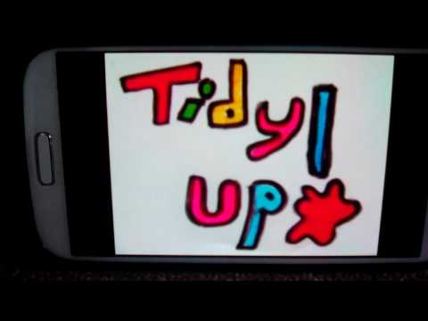The tidy up song funny