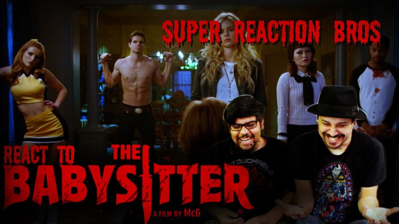 Download SUPER REACTION BROS REACT & REVIEW The Babysitter Official Trailer!!!!