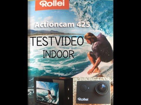 rollei actioncam 425 4k test review youtube. Black Bedroom Furniture Sets. Home Design Ideas