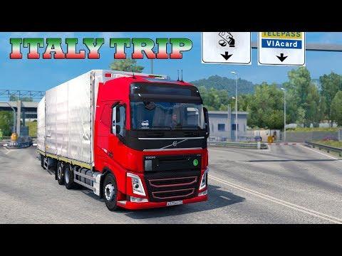 ETS2 Volvo FH 16 Tandem Trip (Euro Truck Simulator 2)