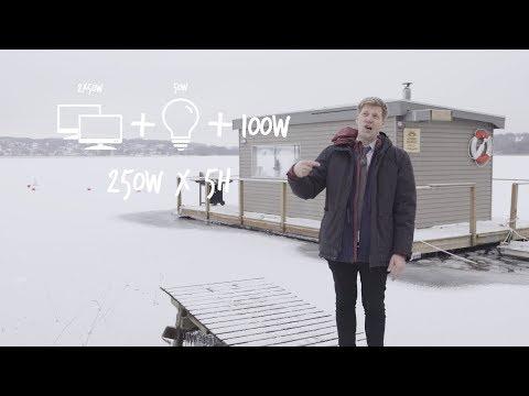 How to build a Solar Sauna Raft w. Colin Furze